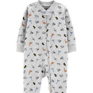 Carter's Dinosaur Zip-Up Stretch Sleep & Play